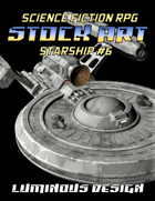 Sci-fi Stock Art Starship #6