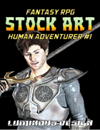 Fantasy Stock Art #1: Human Adventurer