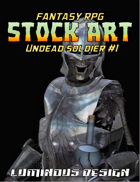 Fantasy Stock Art #2: UNDEAD SOLDIER #1