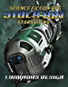 Sci-fi Stock Art Starship #5