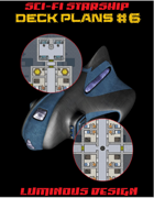 Sci-fi Starship Deck Plans #6