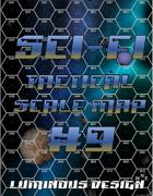 Sci-fi Tactical Scale Map #9
