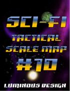 Sci-fi Tactical Scale Map #10