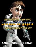 Sci-Fi Stock Art Toon Character #2
