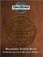 Magonomia Starter Rules