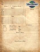 Magonomia Character Sheet