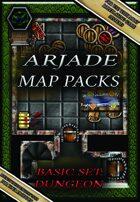 Arjade Map Packs: Basic Set: Dungeon