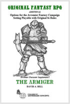 The Armiger: Avremier Character Supplement I