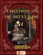Variations on the Great Game