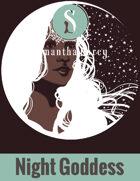 Filler Spot Art - Night Goddess - by Samantha Darcy