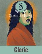 Filler Spot Art - Human Cleric - by Samantha Darcy