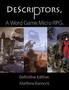 DeScriptors RPG: Definitive Edition