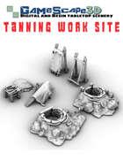 Tanning Work Site