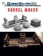 Barrel Maker Work Site