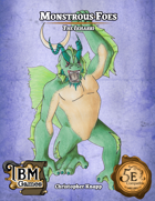 Monstrous Foes - The Ikharri