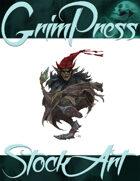 Basic Fantasy Stock Art - Creepy Goblin