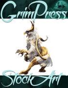 Basic Fantasy Stock Art - Griffin #1