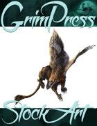Basic Fantasy Stock Art - Griffin #3