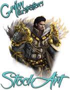 Basic Fantasy Stock Art - Paladin #1 (torso)