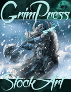 Premium Fantasy Stock Art - Frost Giant