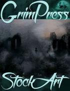 Standard Fantasy Stock Art - Haunted Ruins (Background)