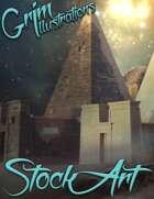 Fantasy Stock Art - Desert Scenes (Backgrounds)