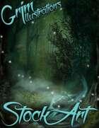 Fantasy Stock Art - Forest Scenes (Backgrounds)