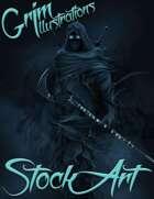 Premium Fantasy Stock Art - Assassin #1 (shadow)