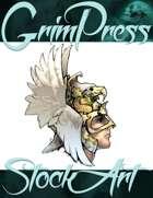 Basic Fantasy Stock Art - Eagle Helm