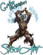 Basic Fantasy Stock Art - Troll Mage