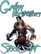 Basic Fantasy Stock Art - Rogue #1 (human)