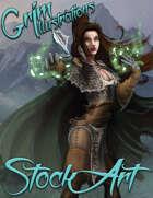 Standard Fantasy Stock Art - Druid #3 (human)