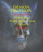 Demon Invasion board game (1-3, coop)