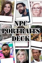 NPC Portraits Deck With Tuck Box