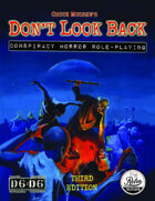 Don't  Look Back: Conspiracy Horror Role-Playing