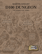D100 Dungeon - The world of Terra