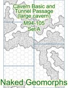 Cavern Basic and Tunnel Passage (large cavern) Set A (M94-105A)