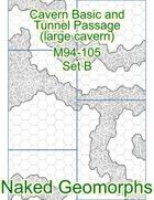 Cavern Basic and Tunnel Passage (large cavern) Set B (M94-105B)