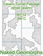 Cavern-Tunnel Passage (small cavern) Set C (M1-12C)