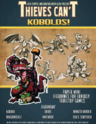 Kobolds! Paper Mini Figurines (Includes Back Art)
