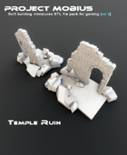 3D Printable Temple Ruin