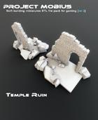 3D Printable Temple Ruin