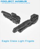 3D Printable Eagle Class Light Frigate