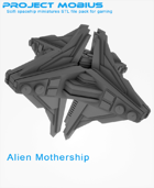 3D Printable Alien Mothership