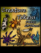 Creature Tokens Pack 2