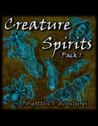 Creature Spirits Pack 1