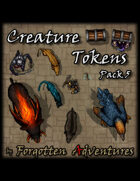 Creature Tokens Pack 5