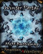Winter Portal 35x35 Battlemap