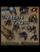 Creature Tokens Pack 8