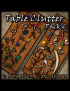 Table Clutter - Pack 2